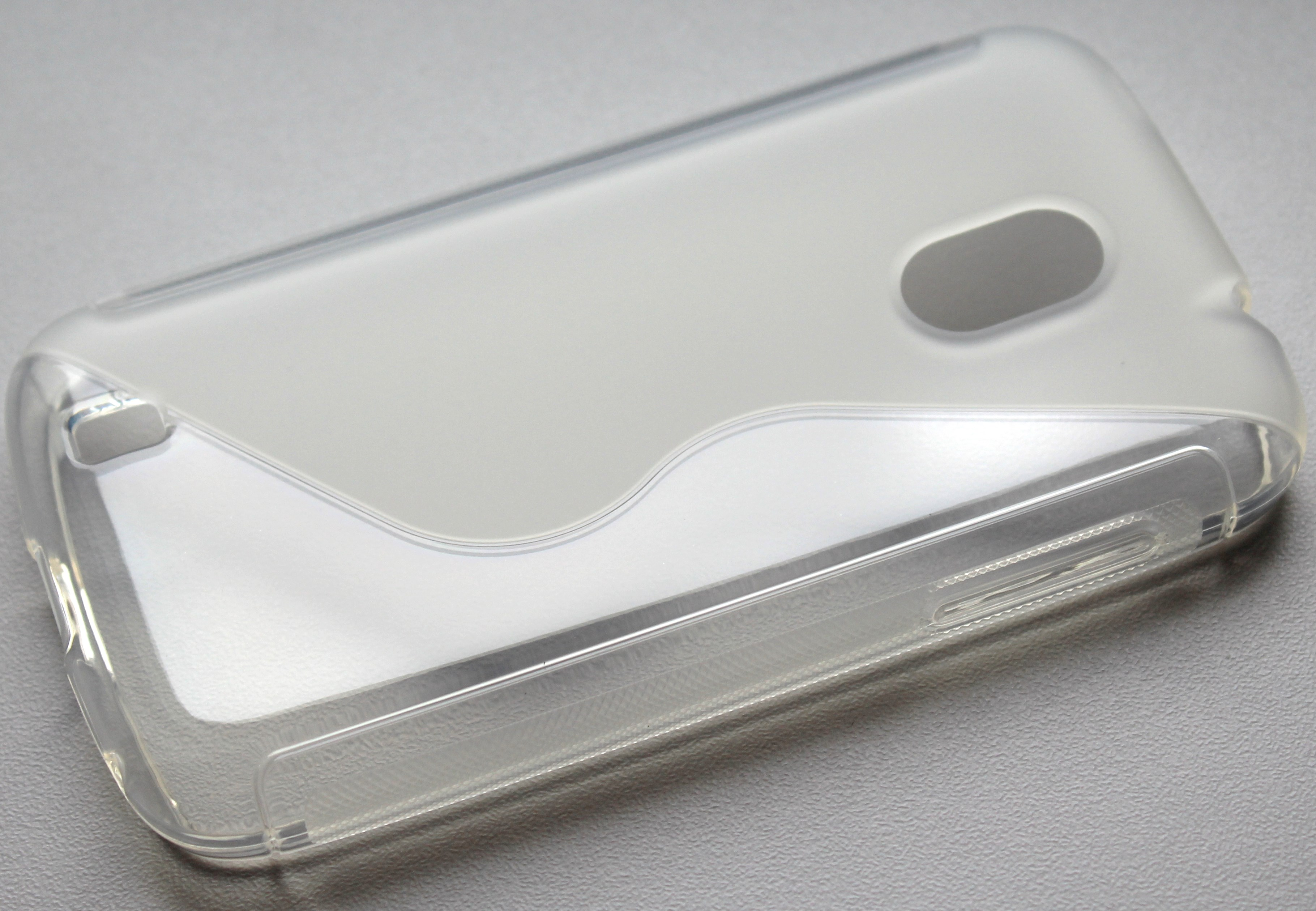 S Case pouzdro ZTE Blade III transparent white