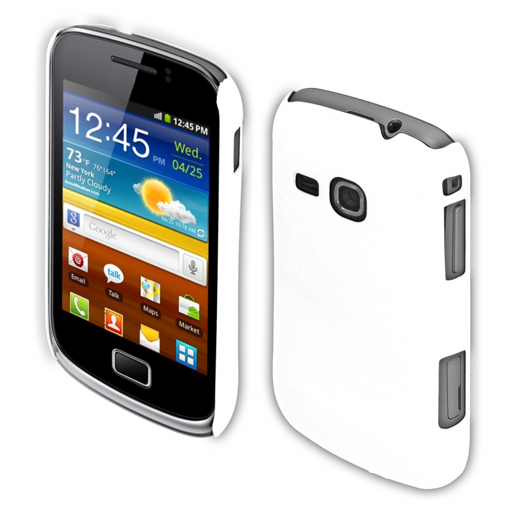 Coby Exclusive kryt Samsung S6500 Galaxy Mini2 white