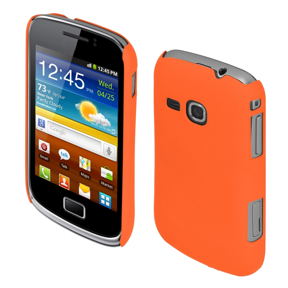 Coby Exclusive kryt Samsung S6500 Galaxy Mini2 orange