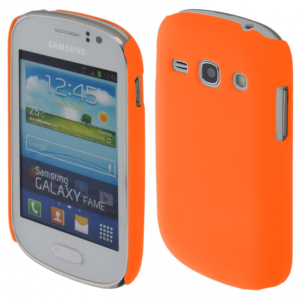 Coby Exclusive kryt Samsung S6810 Galaxy FAME orange