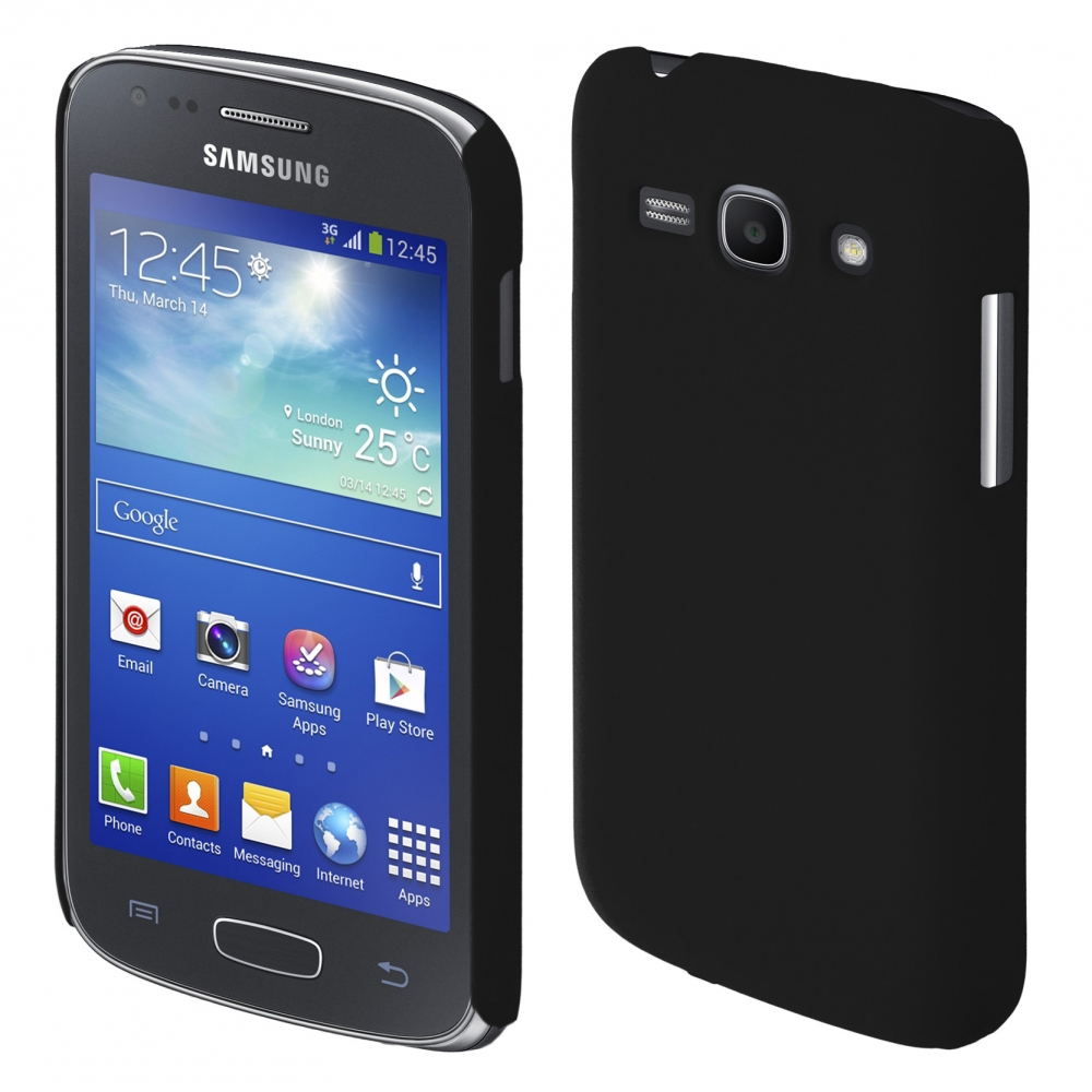 Coby Exclusive kryt Samsung S7270 Galaxy Ace3 black