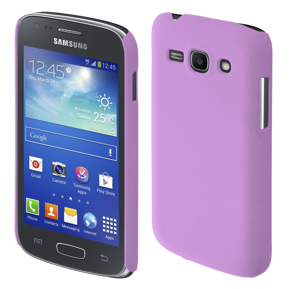 Coby Exclusive kryt Samsung S7270 Galaxy Ace3 purple