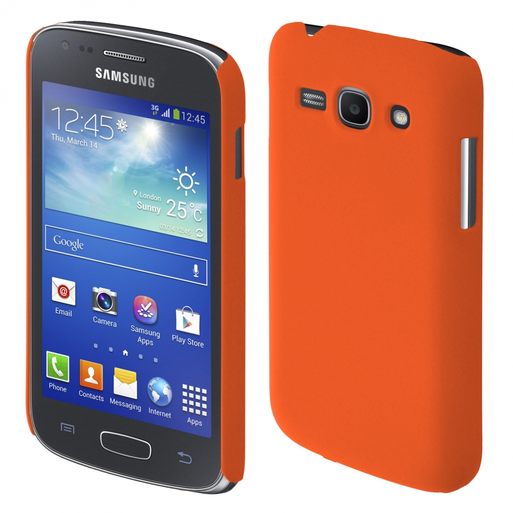 Coby Exclusive kryt Samsung S7270 Galaxy Ace3 orange