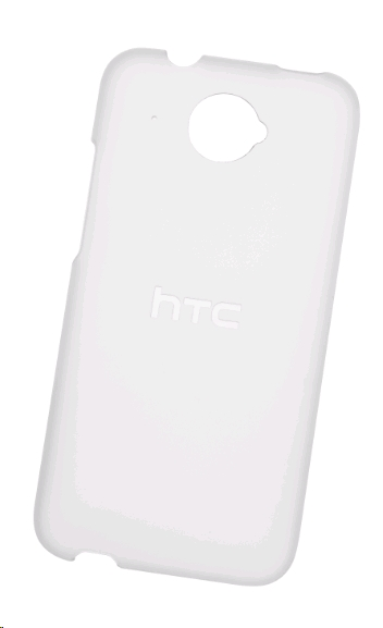 HTC HC C891 faceplate kryt HTC Desire 601 clear white