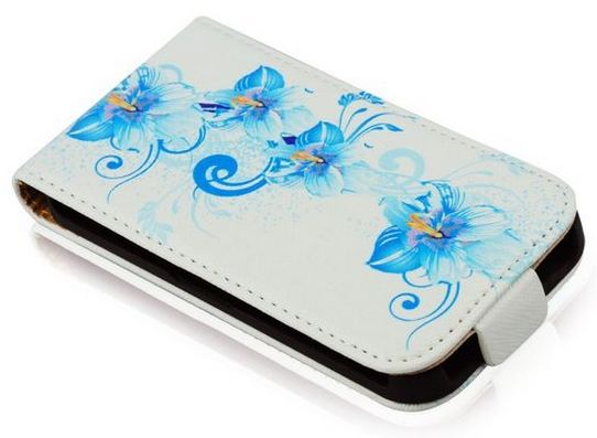 SLIGO Slim pouzdro Nokia 625 Lumia blue flowers