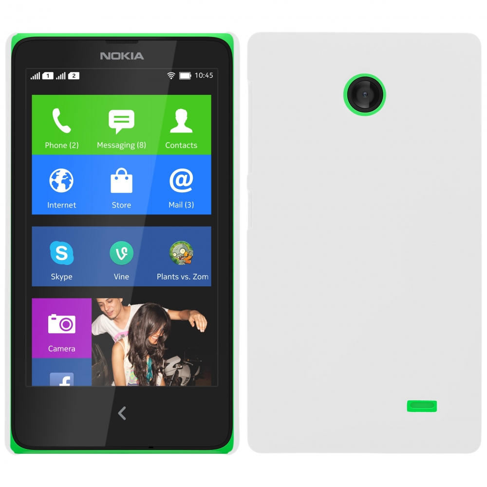 Coby Exclusive kryt Nokia XL white / bílý