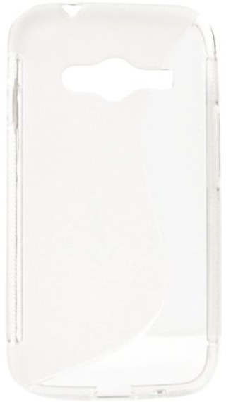 S Case pouzdro Samsung G313H Galaxy Ace NXT transparent white