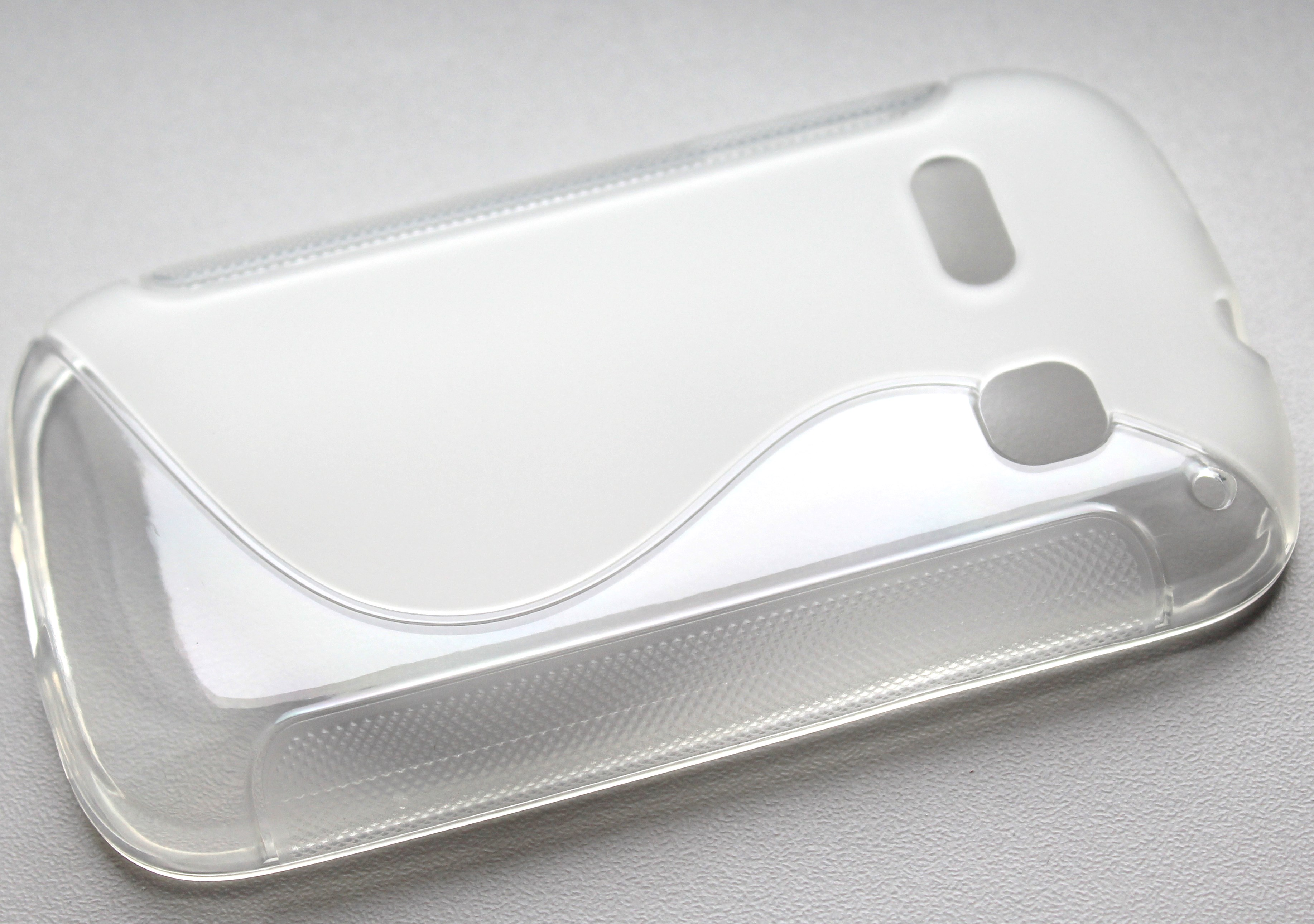 S Case pouzdro Alcatel One Touch C3 (4033D) transparent white