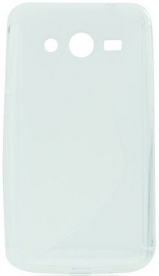 S Case pouzdro Samsung G386 Galaxy Core LTE transparent white
