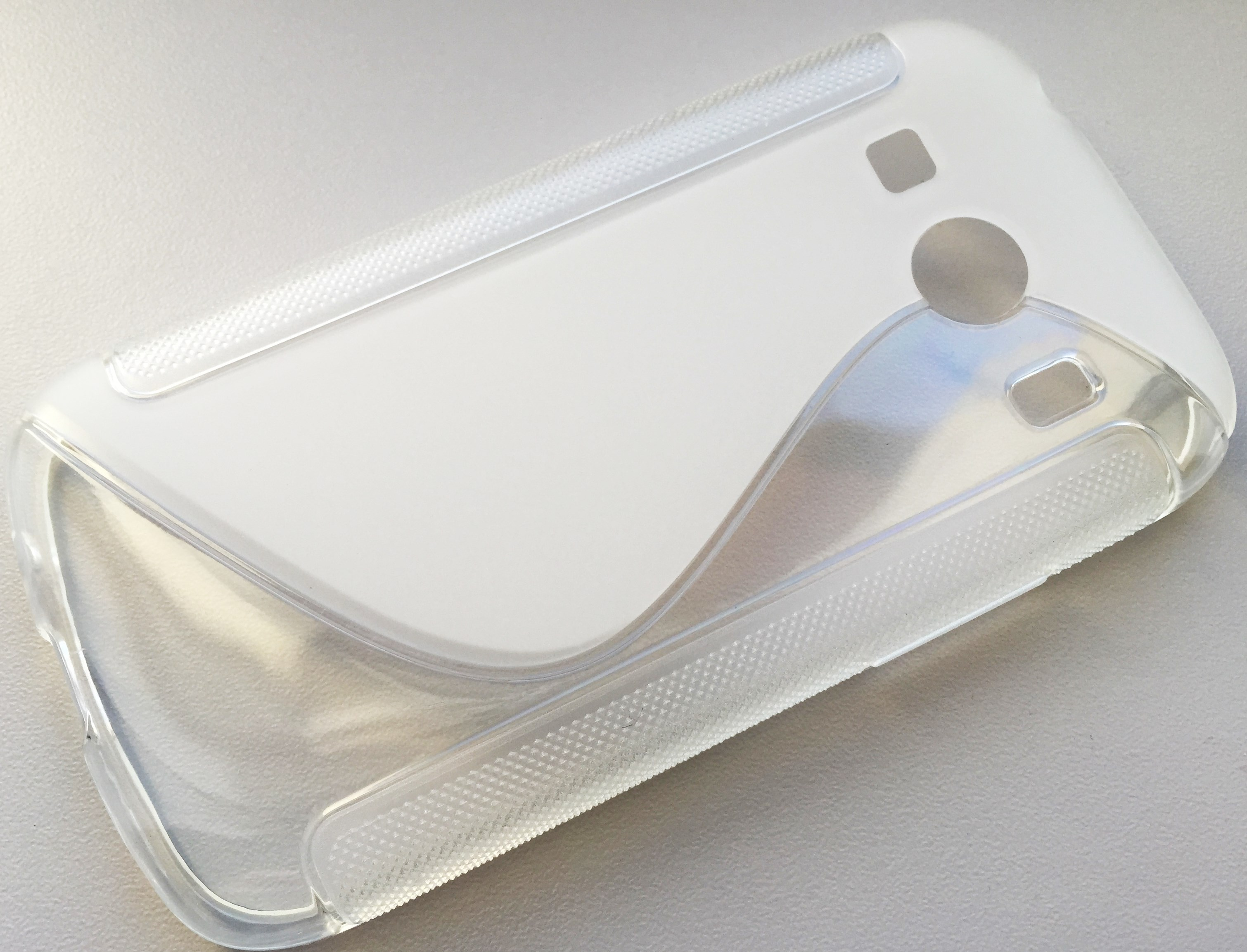 S Case pouzdro Samsung G357 Galaxy Ace4 transparent white