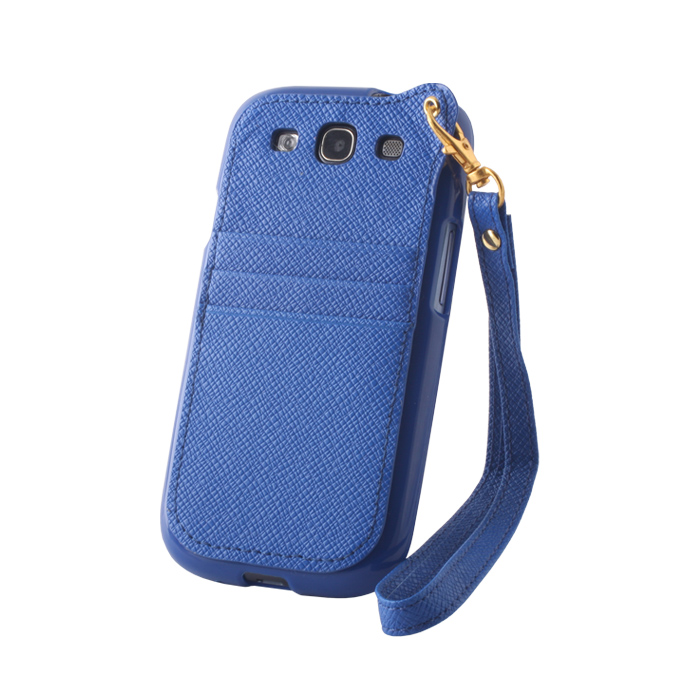 Pocket Case pouzdro Samsung G900 Galaxy S5 blue