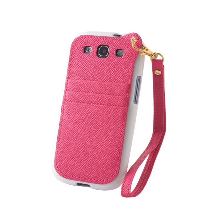 Pocket Case pouzdro Samsung G900 Galaxy S5 white/pink
