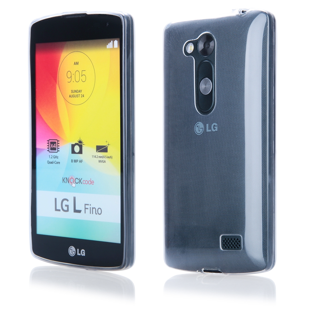 Pouzdro FITTY Ultra Tenké 0,3mm LG L Fino transparentní
