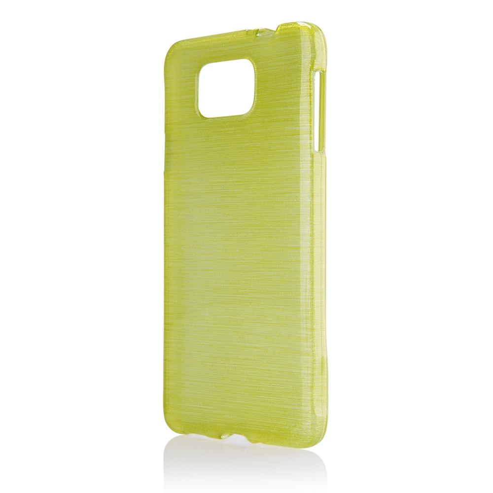 Pouzdro JELLY Case Metalic Samsung G850 Galaxy Alpha zelené