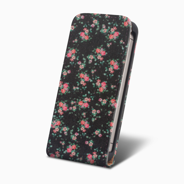 SLIGO Slim pouzdro LG H440, Spirit Black flowers