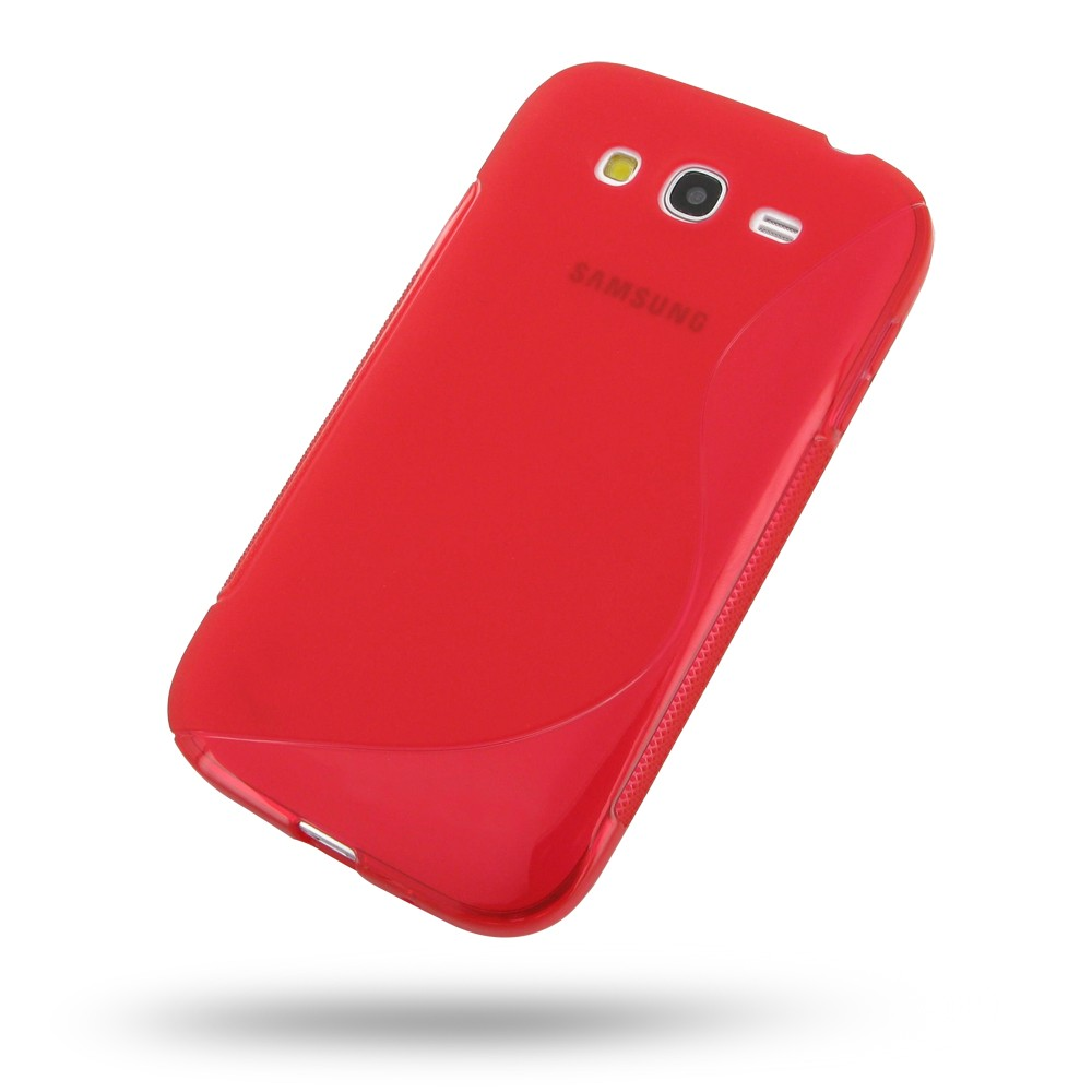 S Case pouzdro Samsung G530 Galaxy Grand Prime red