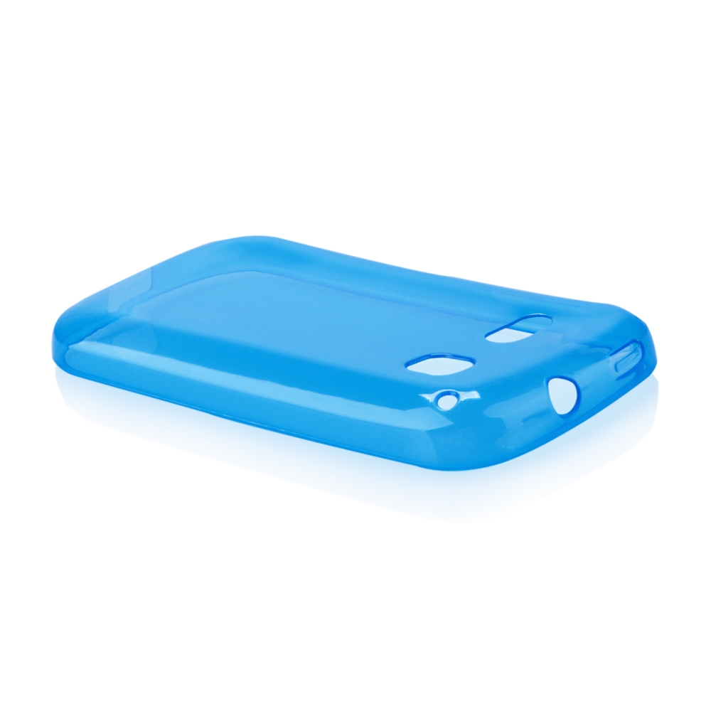 Pouzdro FITTY Ultra Tenké 0,3mm Alcatel One Touch C3 (4033D) modré