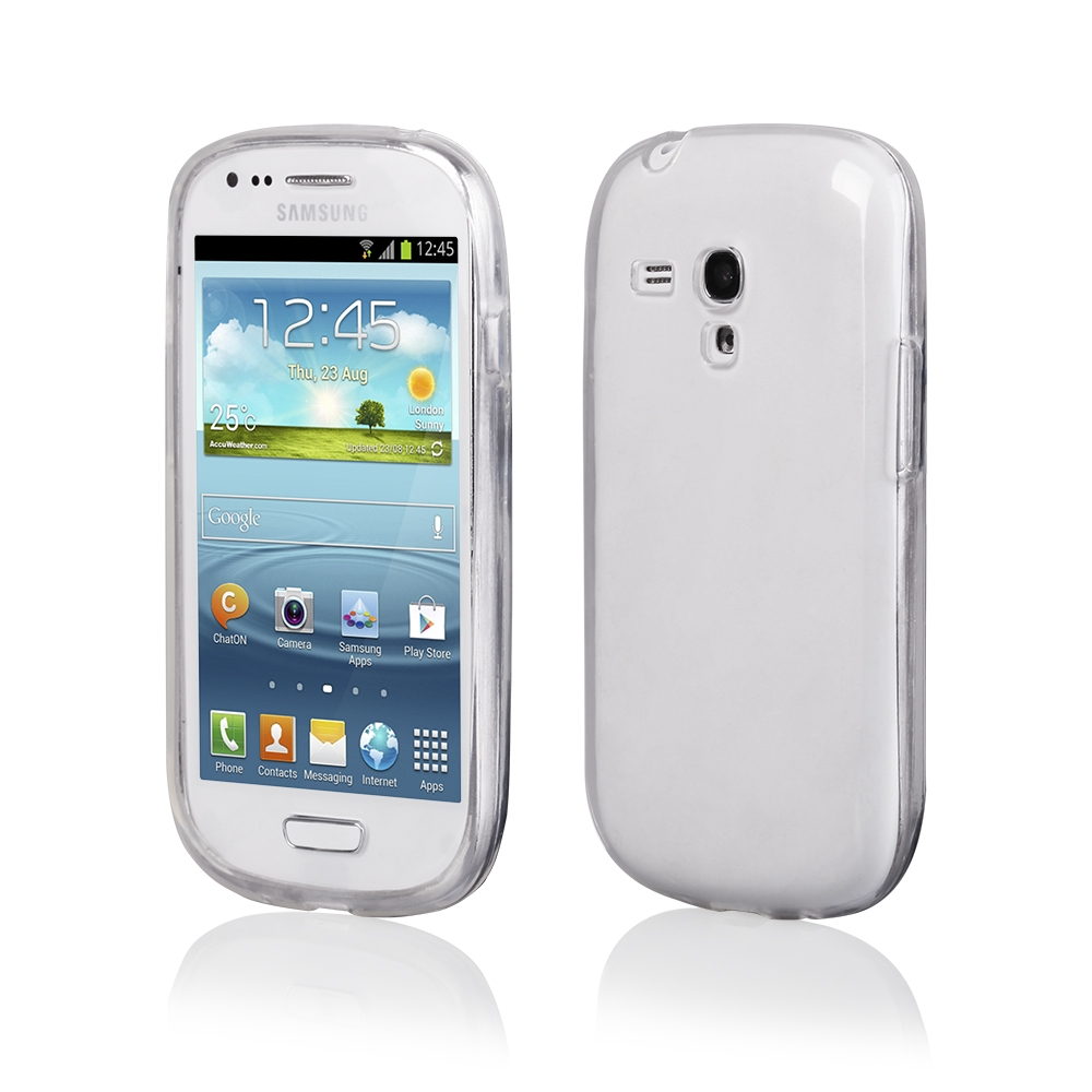 Pouzdro CLEAR CASE Samsung i8190 Galaxy S3 Mini transparentní