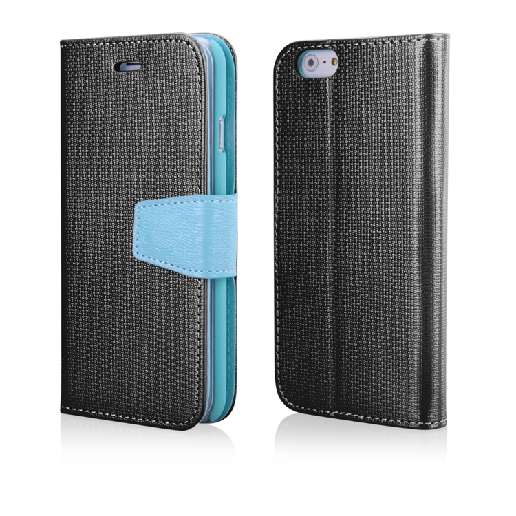 "Smart Book pouzdro iPhone 6 / 6S (4,7"") černé (PURSE EDITION)"