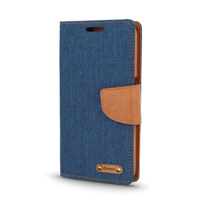 Smart Book pouzdro LG X Power modré (CANVAS EDITION)