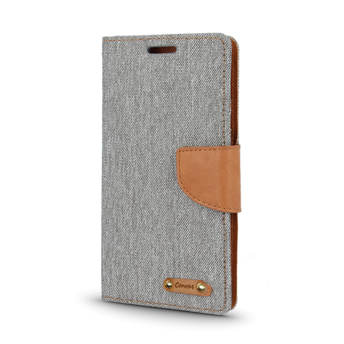 Smart Book pouzdro LG X Power šedé (CANVAS EDITION)