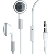 Apple MB770G/B headset white / bílý