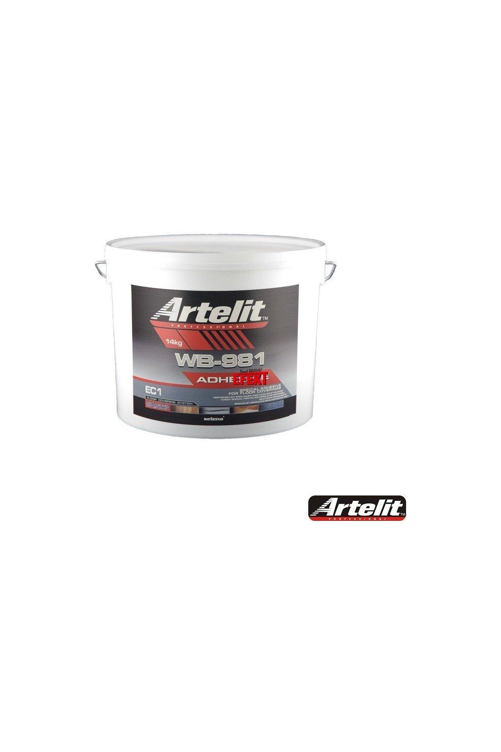 Artelit WB-981-speciální lepidlo na podlahové krytiny 14kg