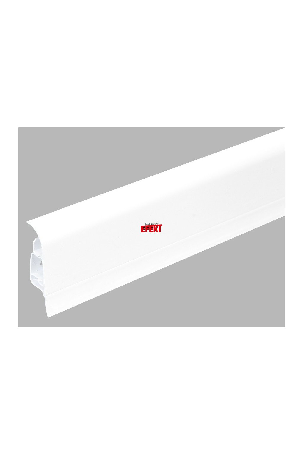 Plastová soklová lišta Bolta 5cm 0101 bílá