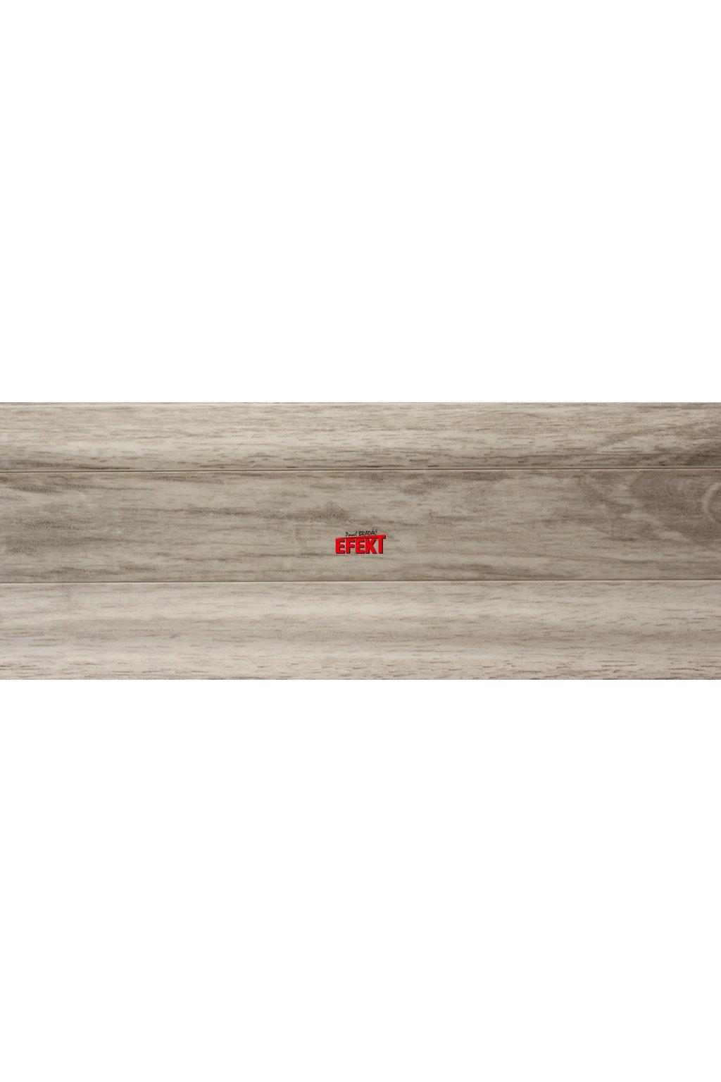Plastová soklová lišta Bolta 5cm 4544 Dub kavkazský