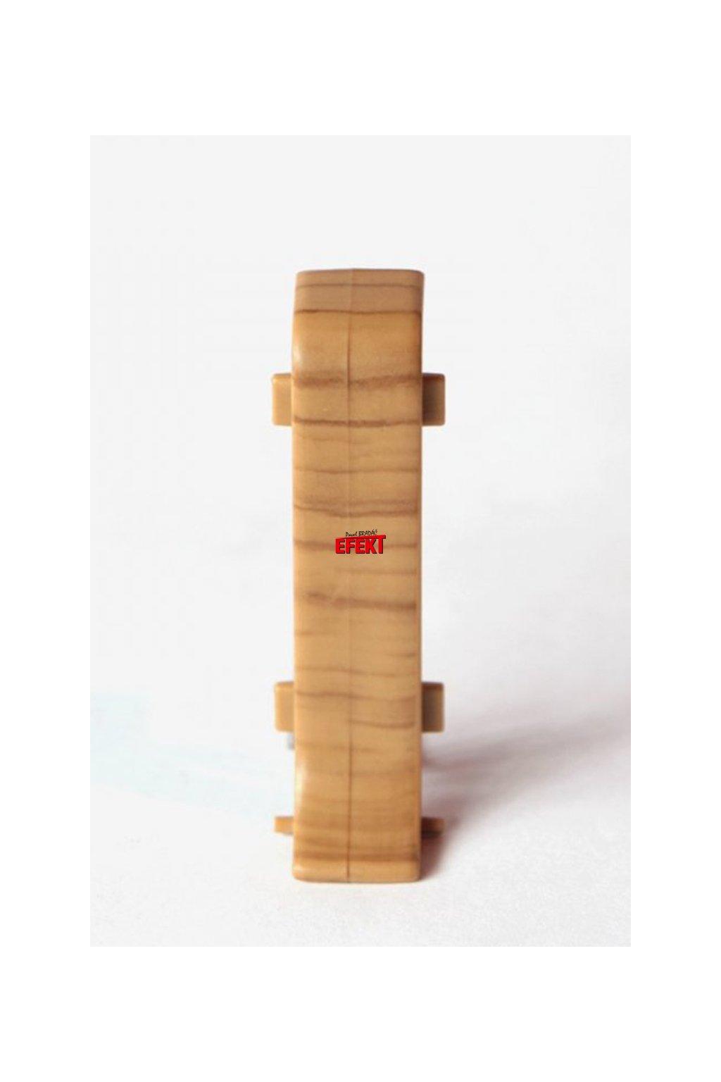 Spojka k lište Bolta 8600 strukturovaný dub