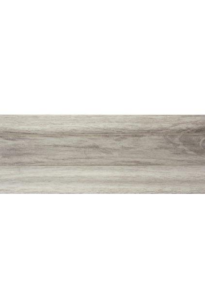 Plastová soklová lišta Bolta 5cm 0545 exotické dřevo