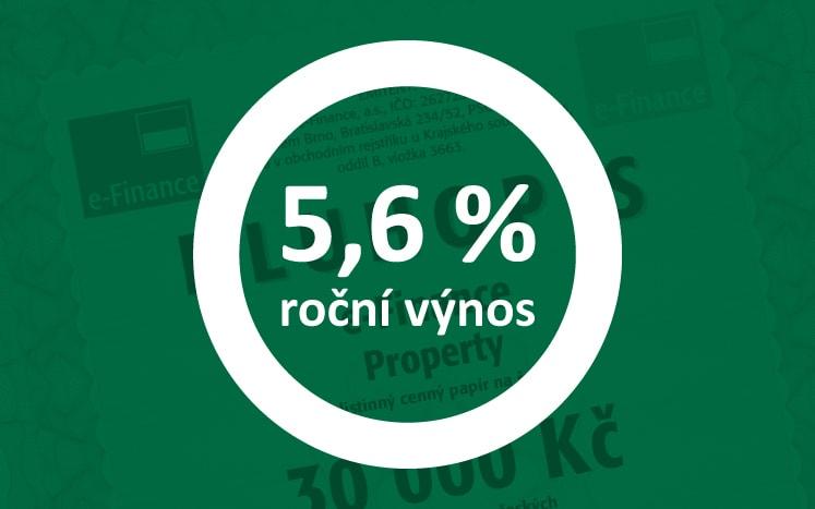 Sedmileté dluhopisy 5,6% p.a.