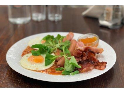 anglická snídaně b 23