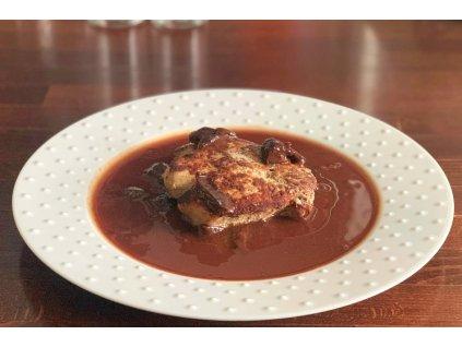 Grilovaná vepřová kotleta se švestkovou omáčkou, baleno po 2 porcích