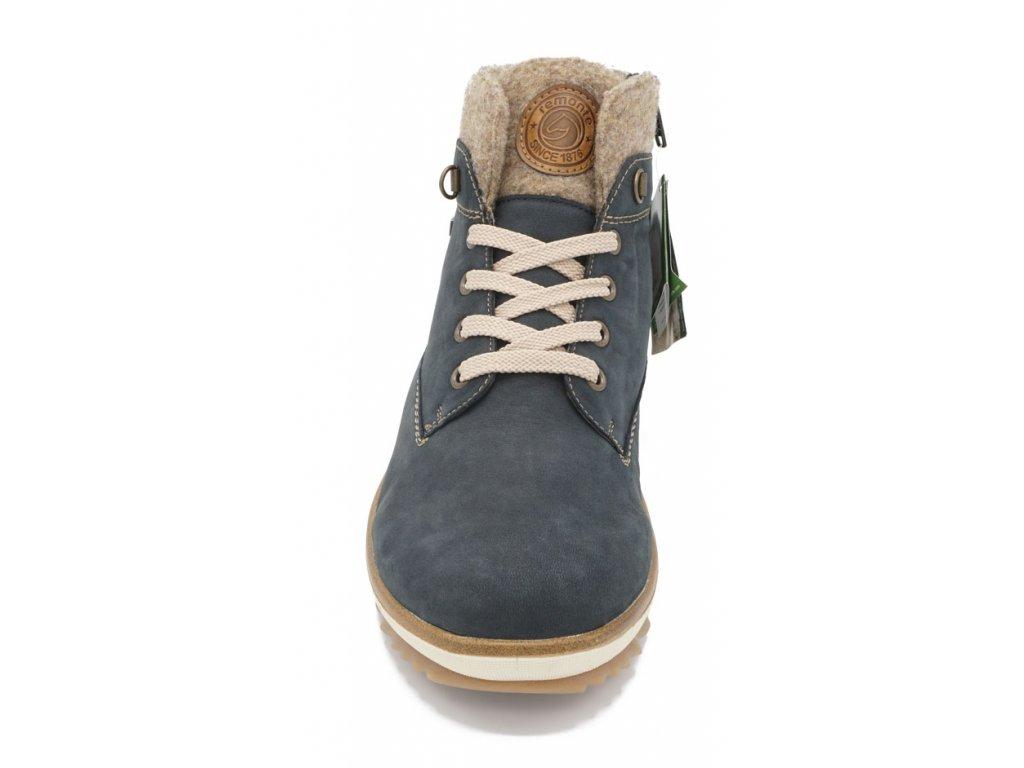 47055895219 Dámská zimní obuv modrošedá Remonte 2 Dámská zimní obuv modrošedá Remonte 3  ...
