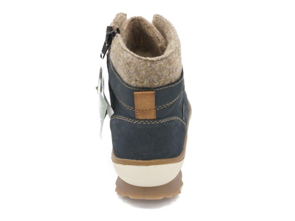 ed4779b9e15 ... Dámská zimní obuv modrošedá Remonte 4 ...