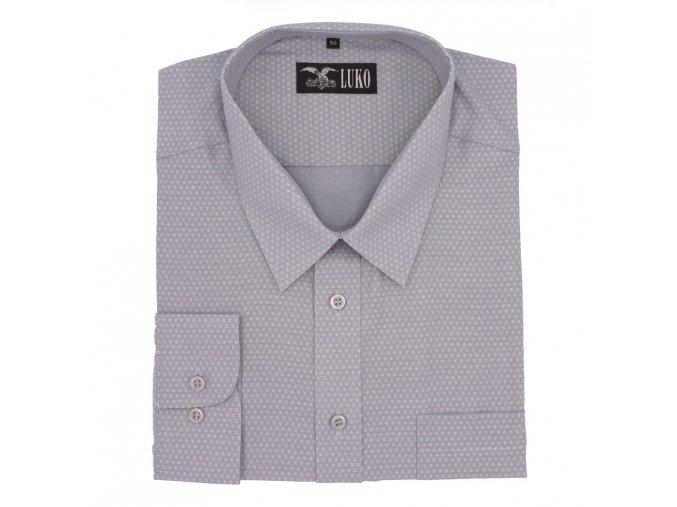Košile světlá šedá lux 1D
