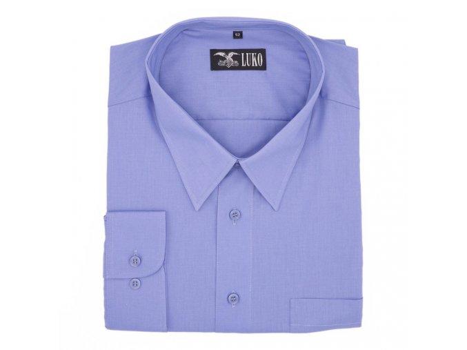 Košile světle modrá hladká 1D