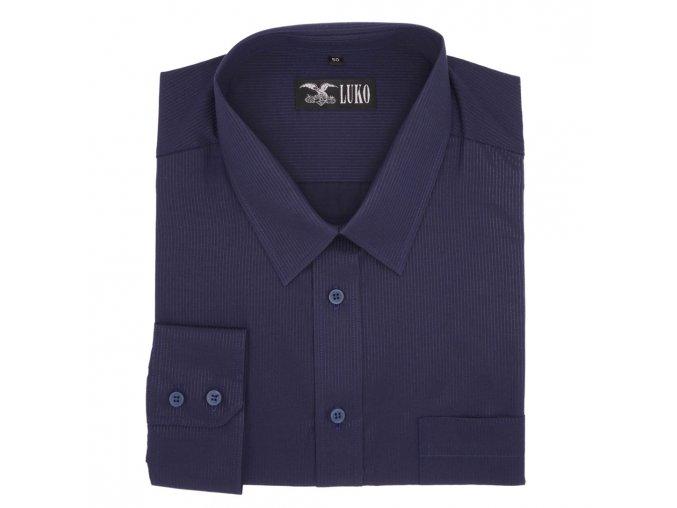 Košile tmavě modrá proužek 1D