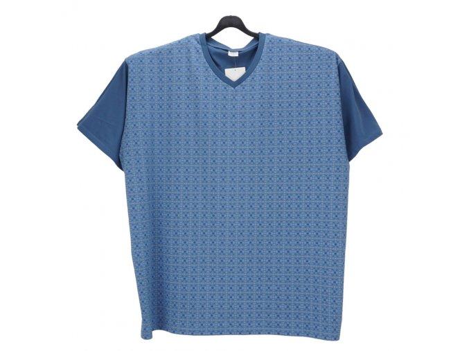 Pánské pyžamo modré K1