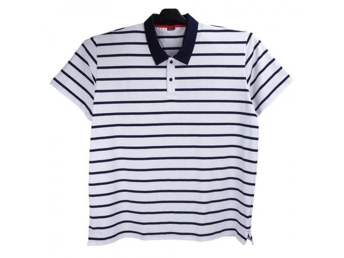 Pánské triko bílá navy Odex