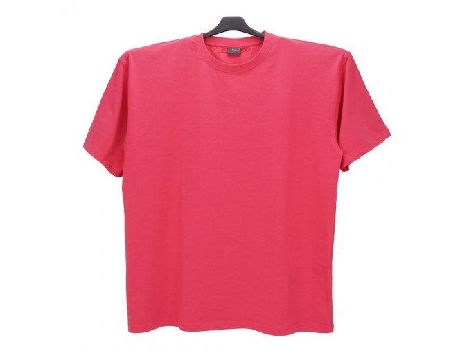 Pánské nadměrné tričko růžové KU