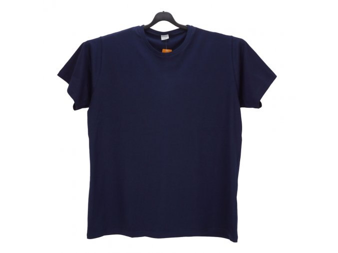 Pánské nadměrné tričko tmavě modré KU