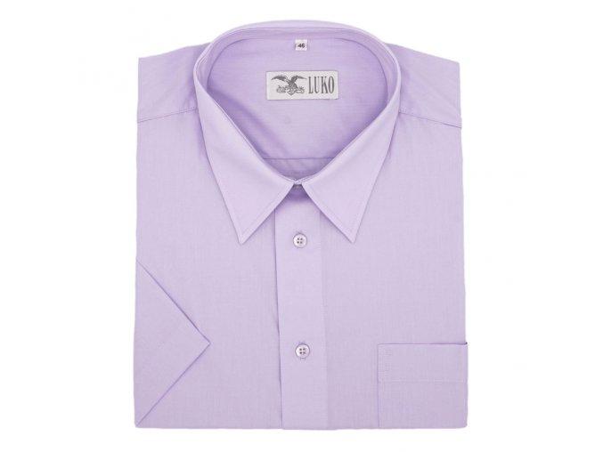 Pánská nadměrná košile středně fialová K