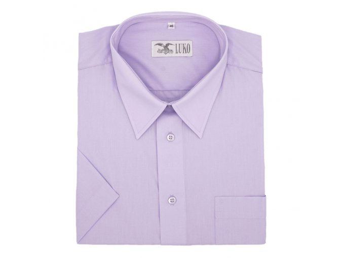 Pánská nadměrná košile středně fialová K1