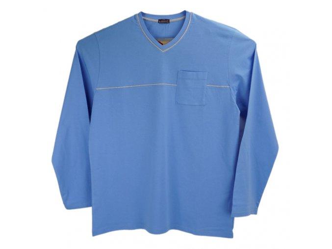Pánské pyžamo světle modré V Ewident 1