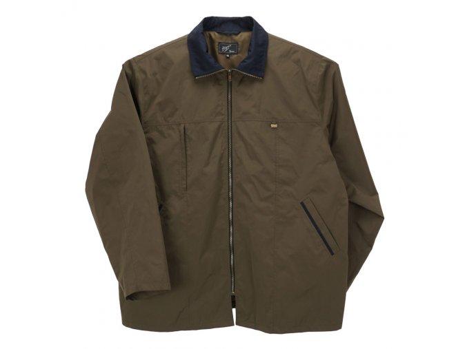 Pánská nadměrná bunda vycházková zelená