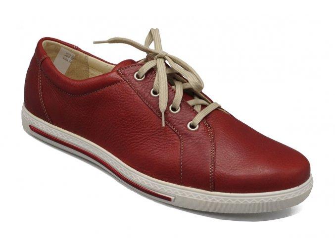 Dámské červené boty 1