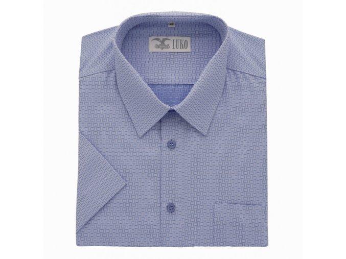 Pánská košile světle modrá minus K 194105 1