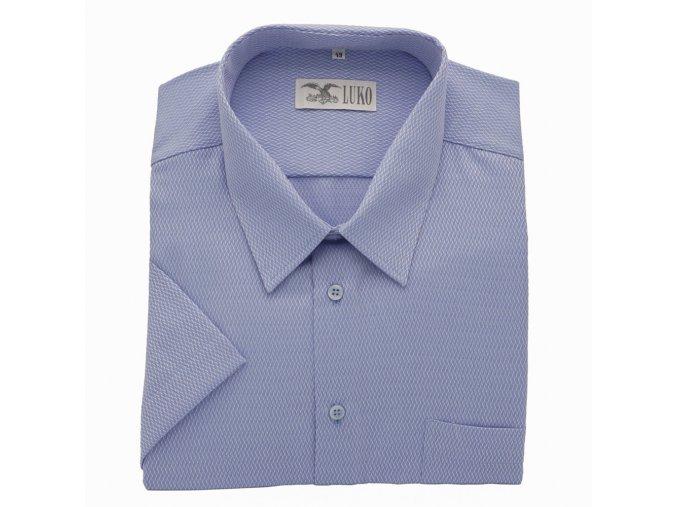 Pánská košile světle modrá s nitkou K 154150 1